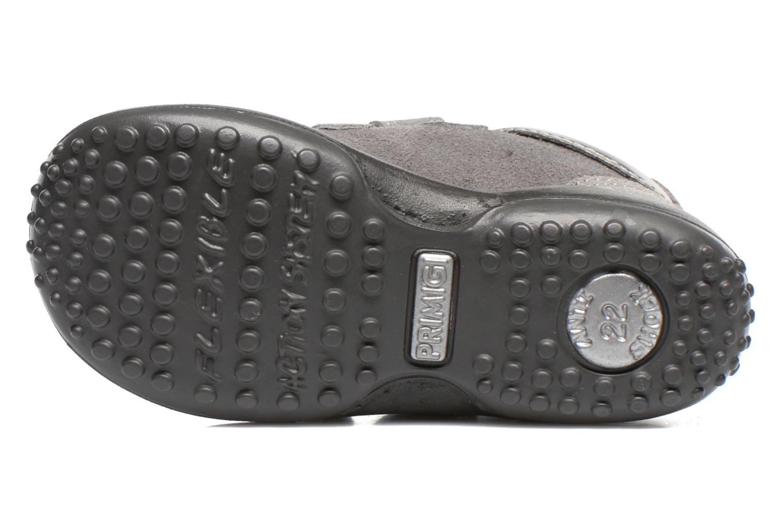 Chaussures à scratch Primigi Agua Gris vue haut