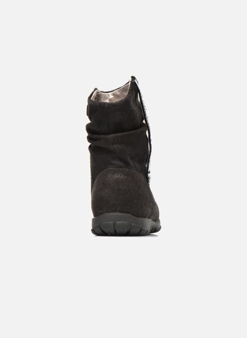 Ankle boots Primigi Aileen Velour Black view from the right