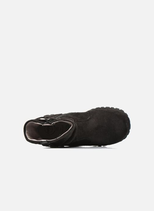 Ankle boots Primigi Aileen Velour Black view from the left