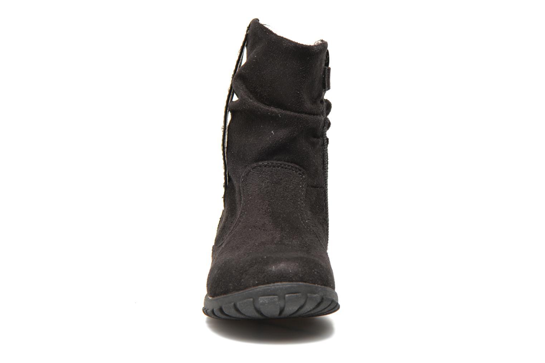 Ankle boots Primigi Aileen Velour Black model view
