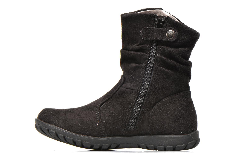 Ankle boots Primigi Aileen Velour Black front view
