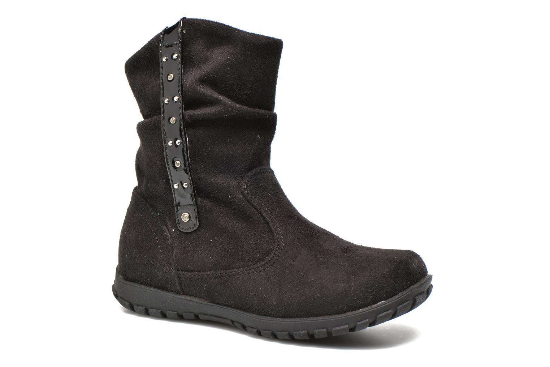 Ankle boots Primigi Aileen Velour Black detailed view/ Pair view