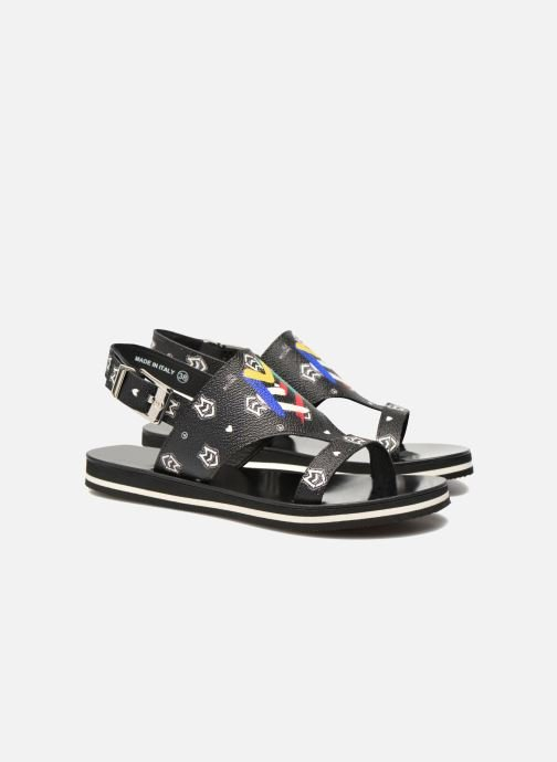 Sandals Love Moschino COLORBLOCKSANDALE Black 3/4 view