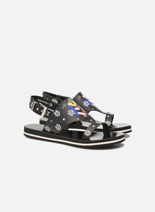 Sandals Love Moschino COLORBLOCKSANDALE Black 3/4 view