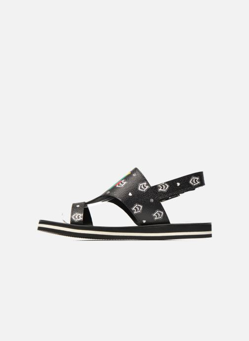 Sandals Love Moschino COLORBLOCKSANDALE Black front view