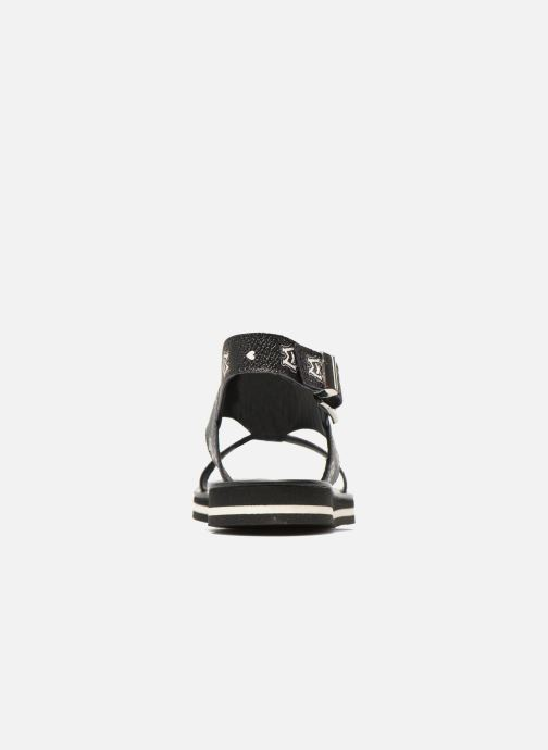 Sandals Love Moschino COLORBLOCKSANDALE Black view from the right