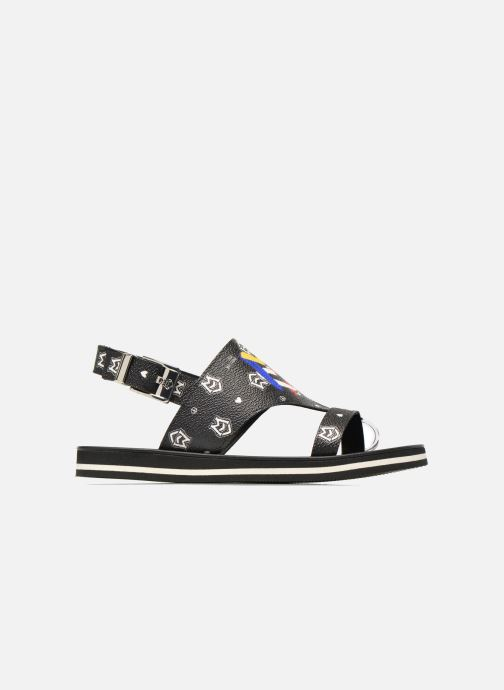 Sandals Love Moschino COLORBLOCKSANDALE Black back view