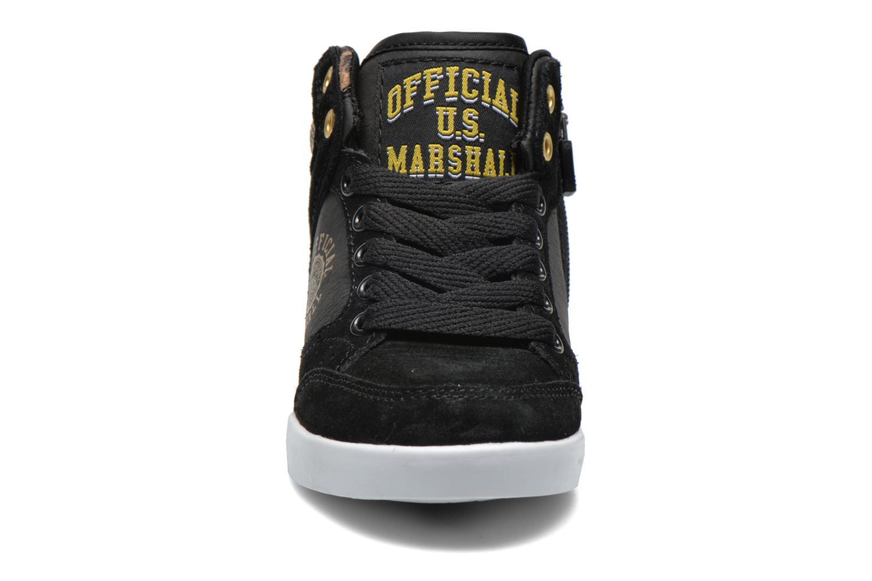 Baskets US Marshall Datacha Kids Noir vue portées chaussures