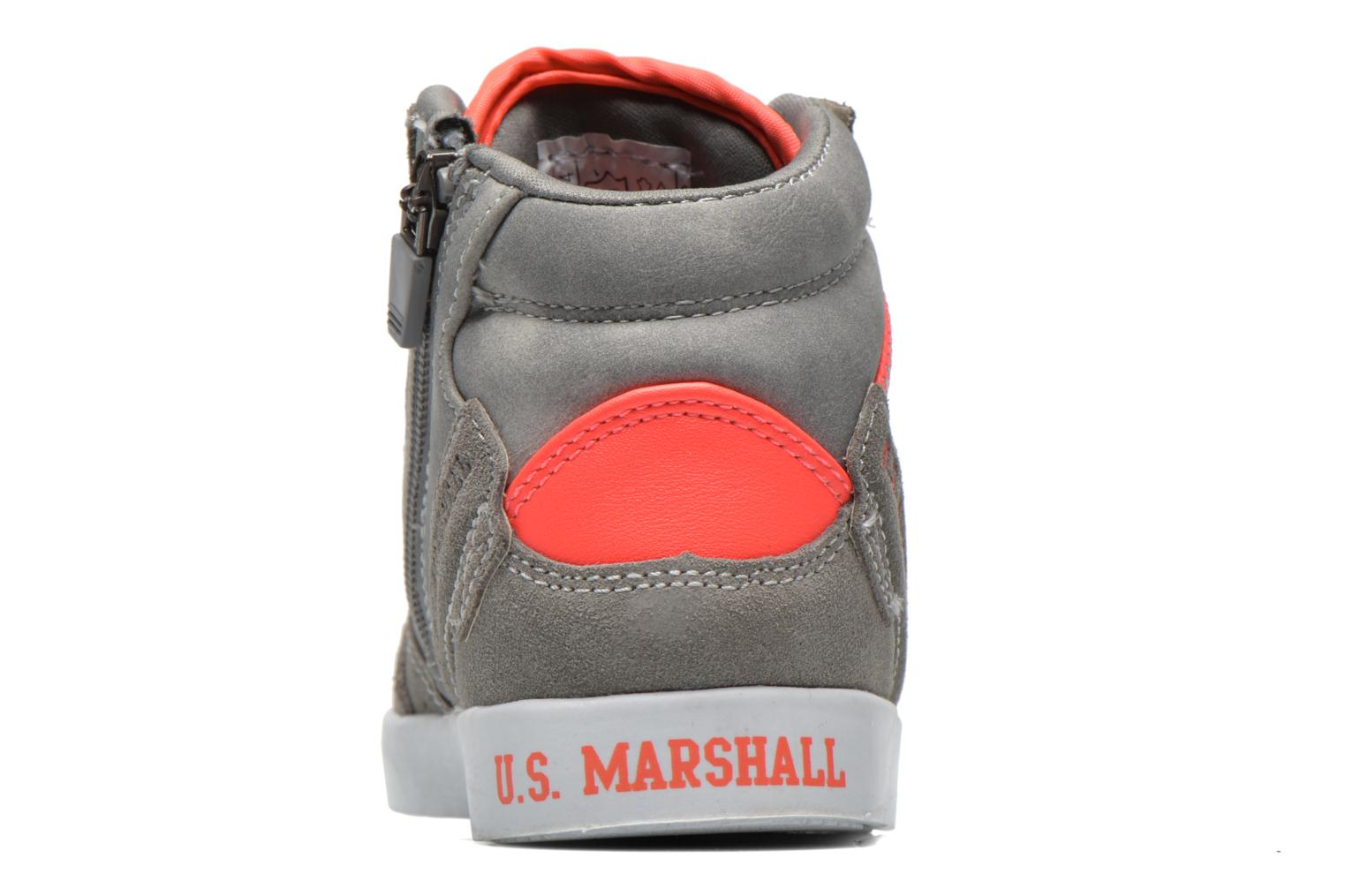 Baskets US Marshall Datacha Kids Gris vue droite