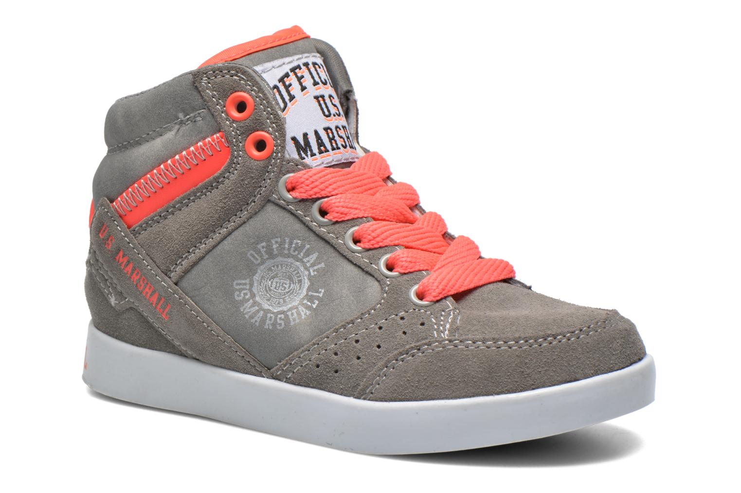 Baskets US Marshall Datacha Kids Gris vue détail/paire