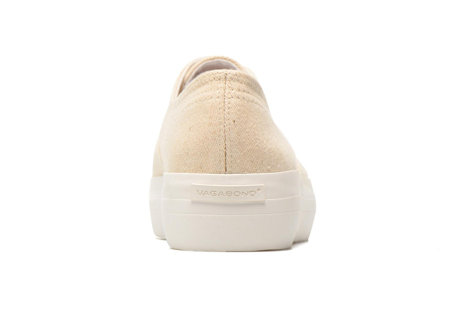 Baskets Vagabond Shoemakers Keira 4144-180 Beige vue droite