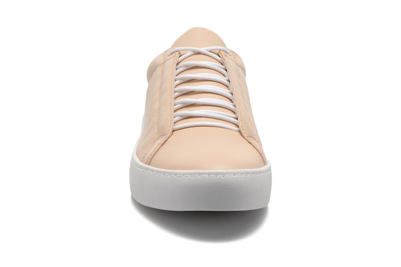 Baskets Vagabond Shoemakers Zoe 4121-001 Beige vue portées chaussures