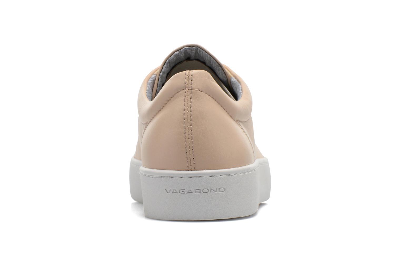 Baskets Vagabond Shoemakers Zoe 4121-001 Beige vue droite