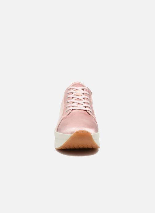 Baskets Vagabond Shoemakers Casey 4322-085 Rose vue portées chaussures