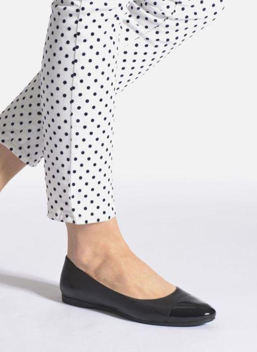 Bailarinas Vagabond Shoemakers Savannah 4306-302 Negro vista de abajo