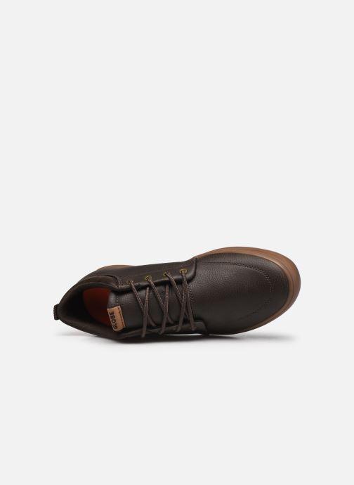 Sneakers Globe Gs Chukka Marrone immagine sinistra