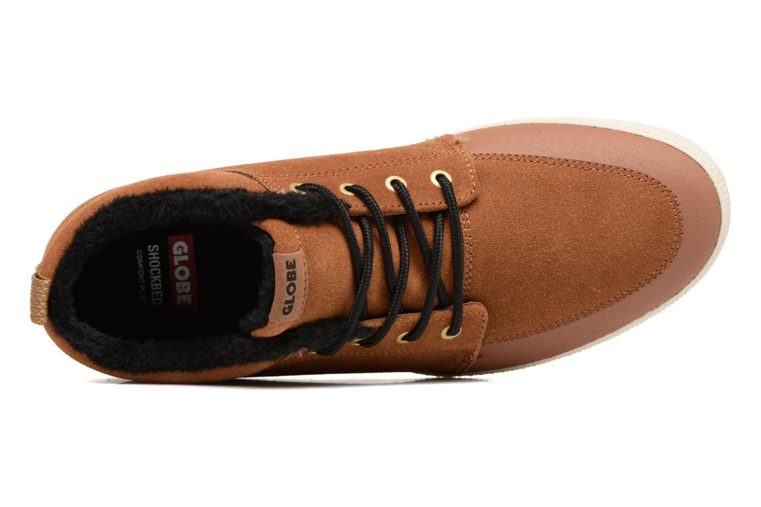 Baskets Globe Gs Chukka Marron vue gauche