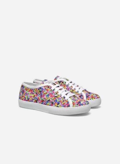 Sneakers Boutique Moschino Sneaker candy Multicolore immagine 3/4