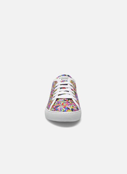 Sneakers Boutique Moschino Sneaker candy Multicolore modello indossato
