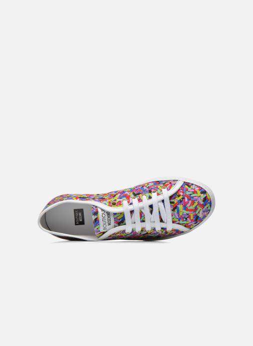 Sneakers Boutique Moschino Sneaker candy Multicolore immagine sinistra