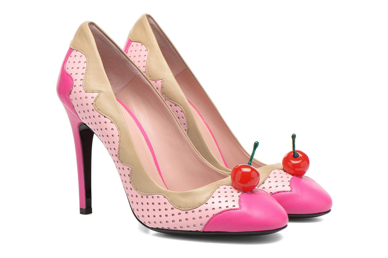 Escarpins Boutique Moschino Cherry stilleto Multicolore vue 3/4