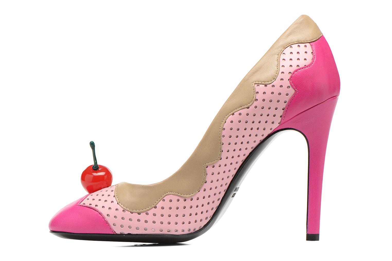 Escarpins Boutique Moschino Cherry stilleto Multicolore vue face