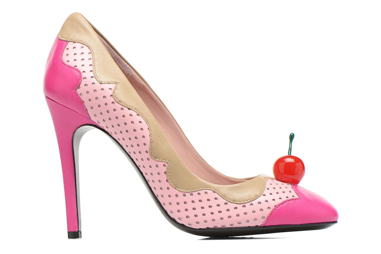 Escarpins Boutique Moschino Cherry stilleto Multicolore vue derrière