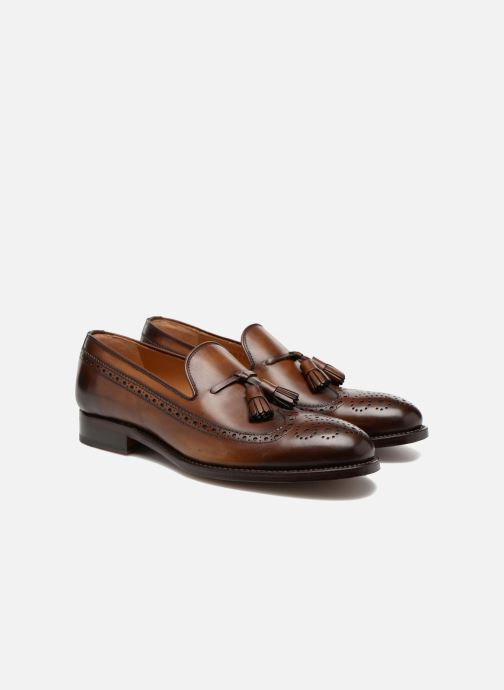 Loafers Marvin&Co Luxe Wallas - Cousu Goodyear Brun 3/4 billede