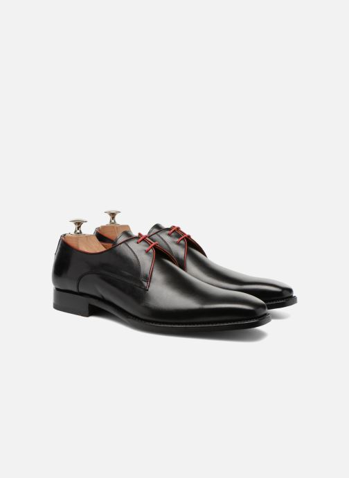 Lace-up shoes Marvin&Co Luxe Welid - Cousu Goodyear Black 3/4 view