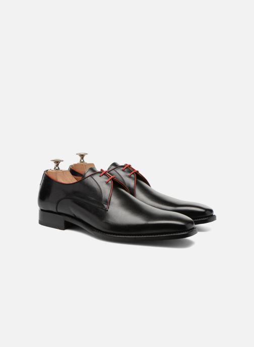 Zapatos con cordones Marvin&Co Luxe Welid - Cousu Goodyear Negro vista 3/4