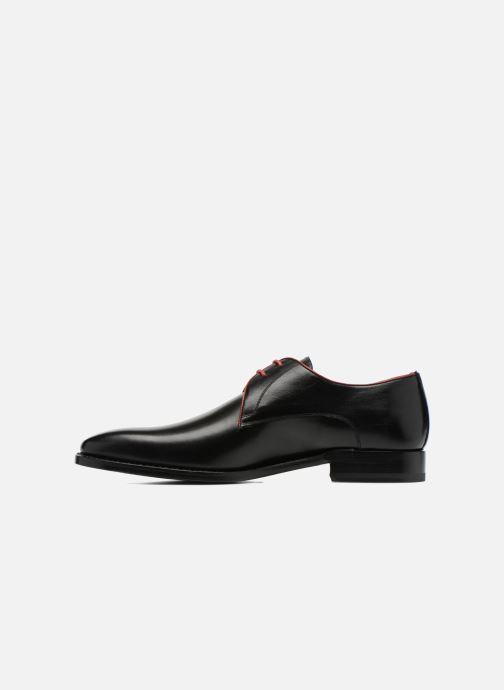 Zapatos con cordones Marvin&Co Luxe Welid - Cousu Goodyear Negro vista de frente
