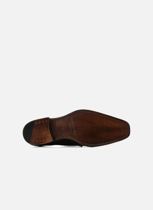 Zapatos con cordones Marvin&Co Luxe Welid - Cousu Goodyear Negro vista de arriba