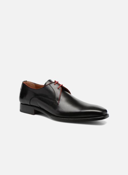 Zapatos con cordones Marvin&Co Luxe Welid - Cousu Goodyear Negro vista de detalle / par
