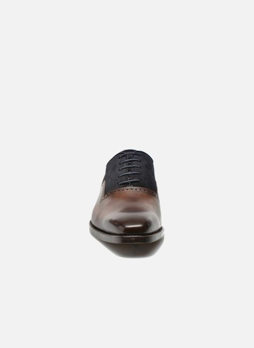 Lace-up shoes Marvin&Co Luxe Welnaith- Cousu Goodyear Brown model view