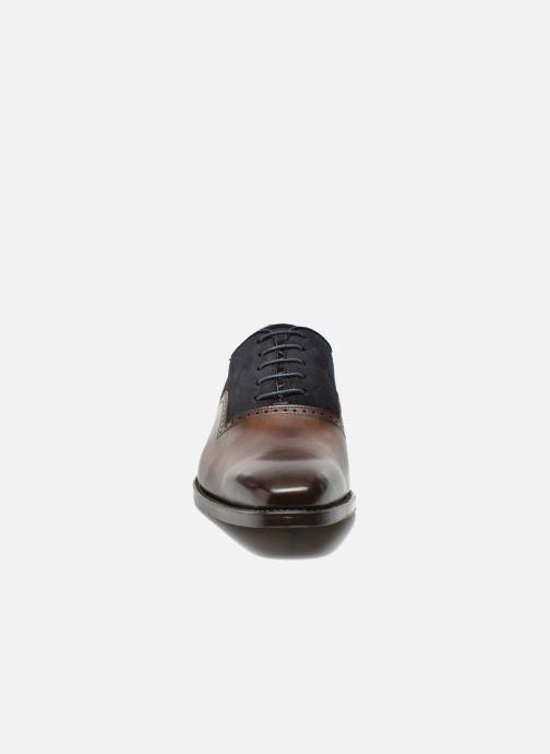 Chaussures à lacets Marvin&Co Luxe Welnaith- Cousu Goodyear Marron vue portées chaussures