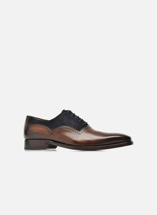 Lace-up shoes Marvin&Co Luxe Welnaith- Cousu Goodyear Brown back view