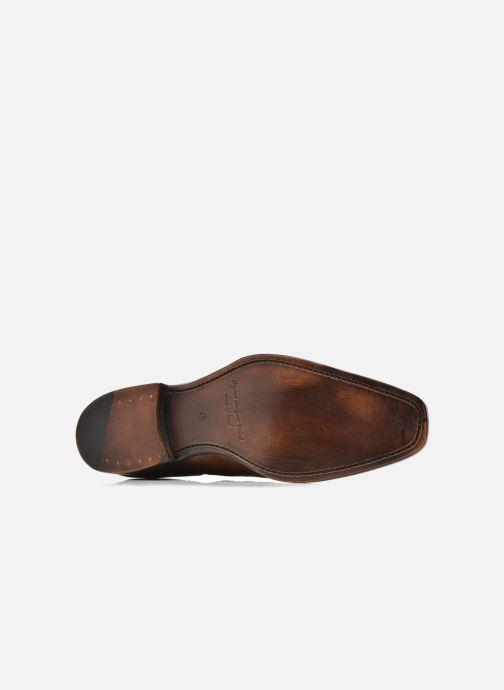 Chaussures à lacets Marvin&Co Luxe Welnaith- Cousu Goodyear Marron vue haut