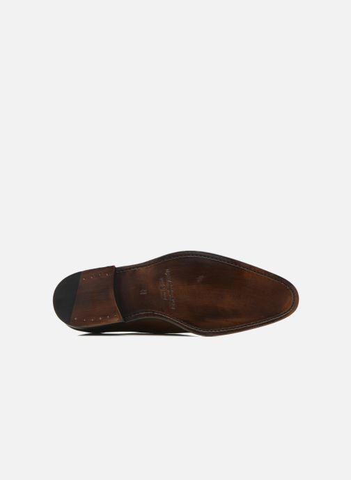 Chaussures à lacets Marvin&Co Luxe Wonried - Cousu Goodyear Marron vue haut