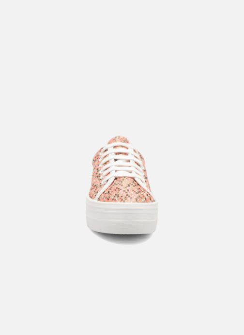 Deportivas No Name Plato Sneaker Square Rosa vista del modelo