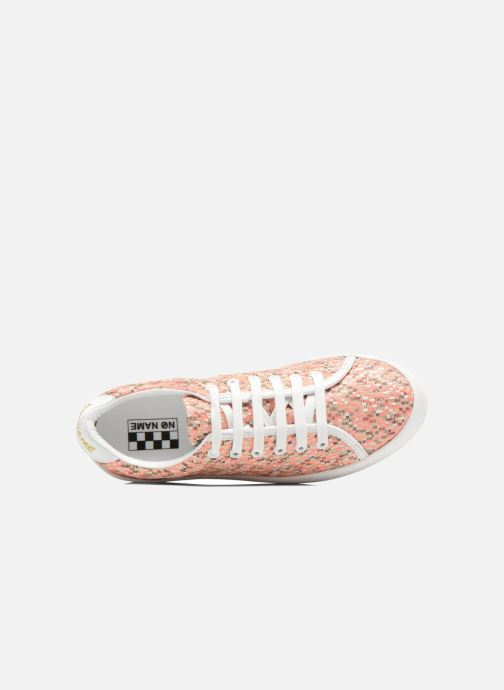 Baskets No Name Plato Sneaker Square Rose vue gauche