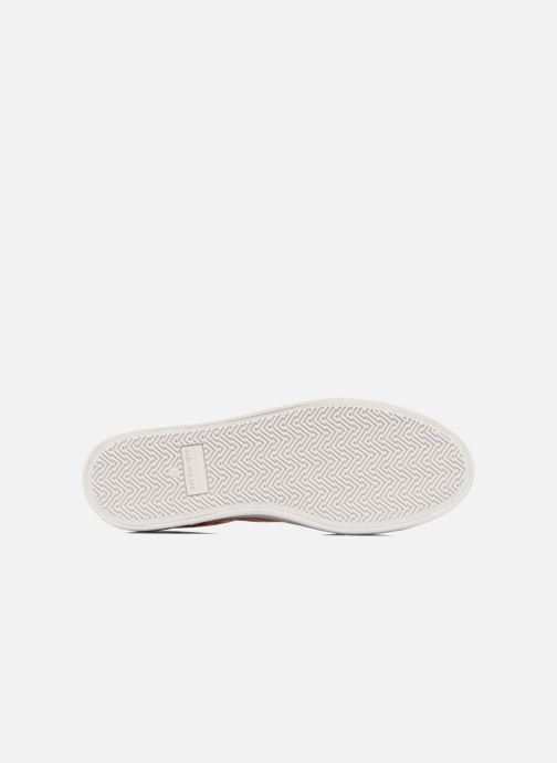 Baskets No Name Plato Sneaker Square Rose vue haut