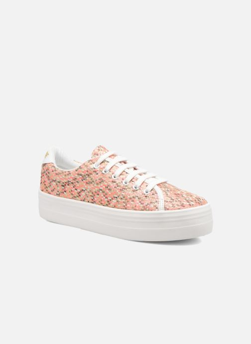 Baskets No Name Plato Sneaker Square Rose vue détail/paire
