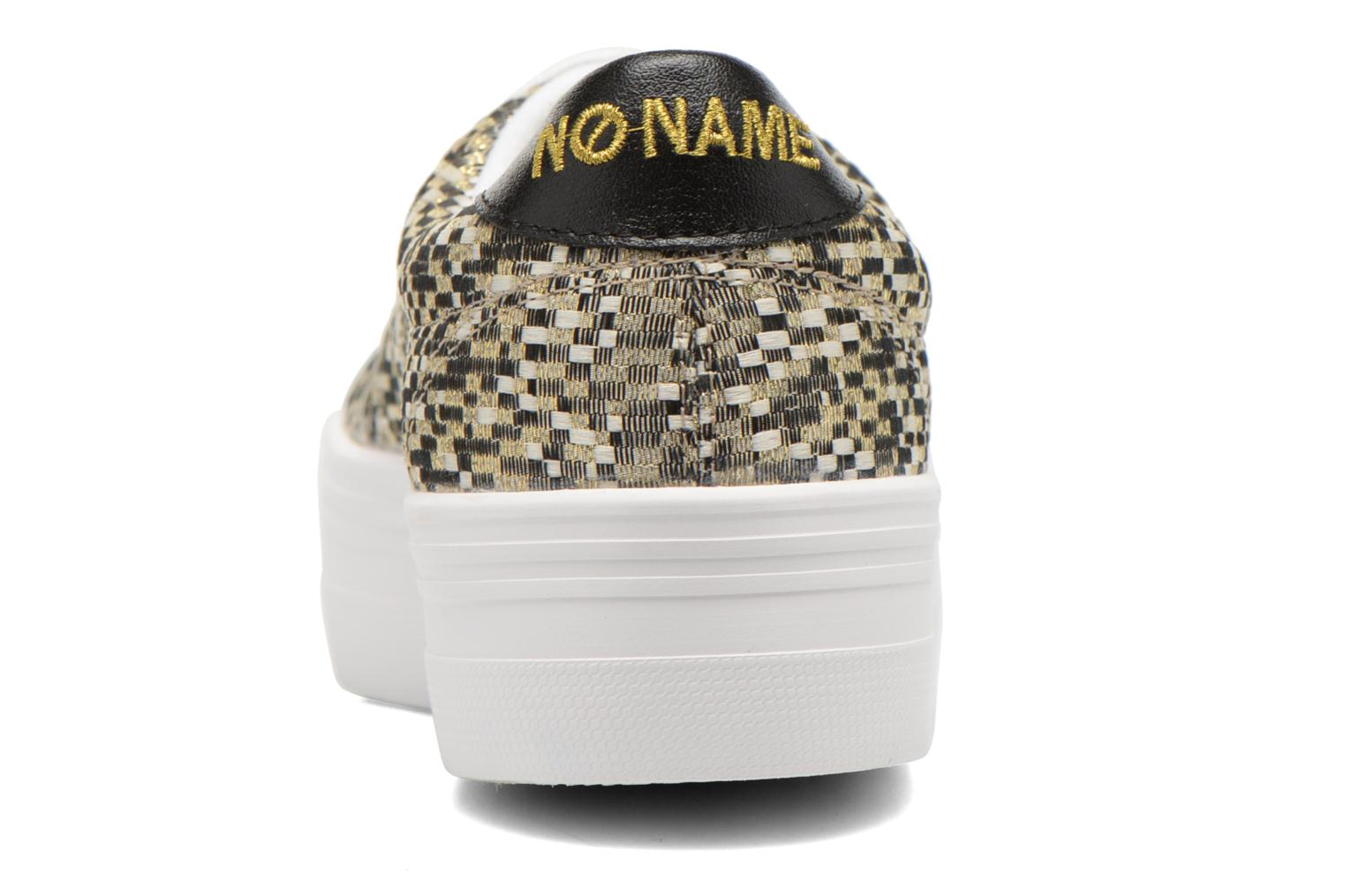 Baskets No Name Plato Sneaker Square Multicolore vue droite