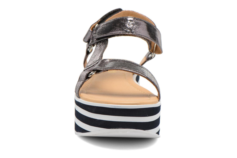Sandales et nu-pieds No Name Bhama Sandal Argent vue portées chaussures