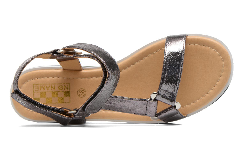 Sandales et nu-pieds No Name Bhama Sandal Argent vue gauche