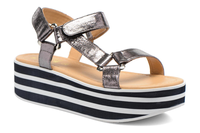 Sandales et nu-pieds No Name Bhama Sandal Argent vue détail/paire