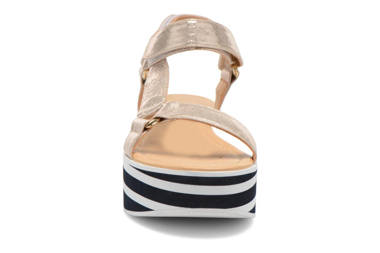 Sandales et nu-pieds No Name Bhama Sandal Or et bronze vue portées chaussures