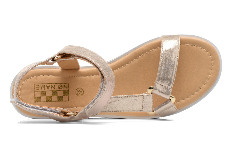 Sandales et nu-pieds No Name Bhama Sandal Or et bronze vue gauche