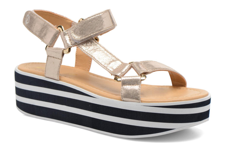 Sandales et nu-pieds No Name Bhama Sandal Or et bronze vue détail/paire