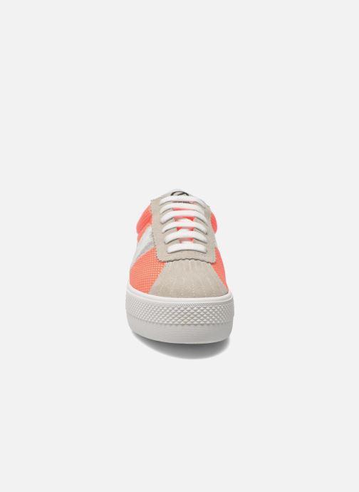 Sneakers No Name Shake Print Astro Micro Suede Multicolore modello indossato
